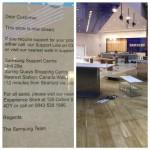 Samsung закрывает один из основных фирменных магазинов в Великобритании