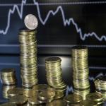 Курс доллара достиг 54,85 рублей