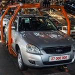Производство автомобилей снизилось на 10,3%