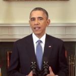 Обама подписал закон, разрешающий новые санкции против России и поставки оружия Украине