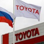 Toyota стала лидером по выручке на авторынке России