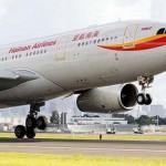Hainan Airlines увеличит количество рейсов в РФ