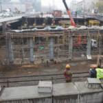 Реконструкцию эстакады на Рябиновой ул. в Москве закончат раньше срока